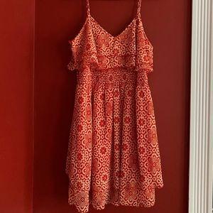 Francesca's Patterned Dress